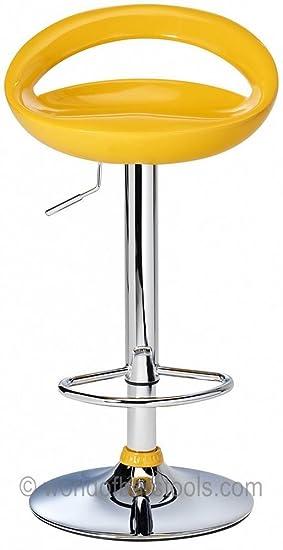 df sales lamboro sorrento swivel bar stool yellow amazon co uk