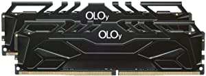 OLOy DDR4 RAM 32GB (2x16GB) 2666 MHz CL19 1.2V 288-Pin Desktop Gaming UDIMM (MD4U162619DJDA)