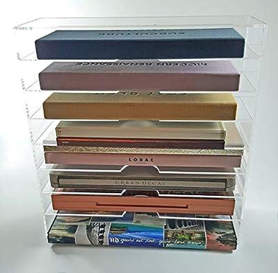 Acrylic Eyeshadow Palette Makeup Storage Organizer By ThePinkologist
