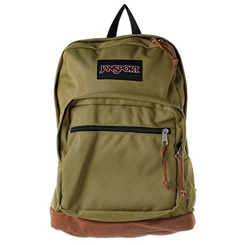 JanSport Right Pack 31L Backpack Olive, One (Pack Olive)
