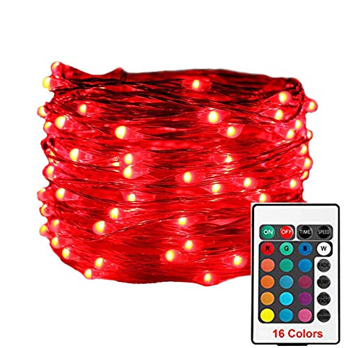 ASERTYL 100 Led 16 Colors String Lights Christmas