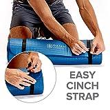 Gaiam Essentials Thick Yoga Mat Fitness & Exercise
