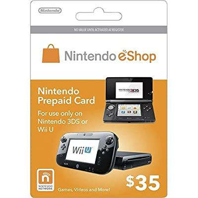 Nintendo eShop $35.00 Prepaid Card for 3DS or Wii U from Nintendo