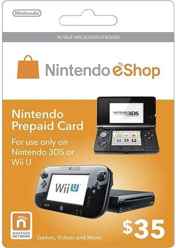 Amazon.com: Nintendo eShop $35.00 Prepaid Card for 3DS or ...