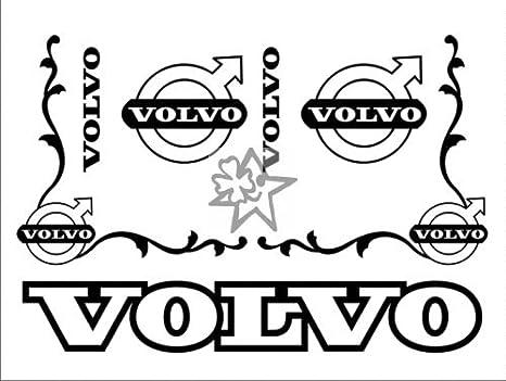 türkis 6,8 x 5,0 cm Decals für Truckdekor für Volvo