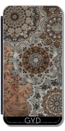 Leder Flip Case Tasche Hülle für Apple Iphone 7 Plus / 8 Plus - Mandala Vintage by Gatterwe
