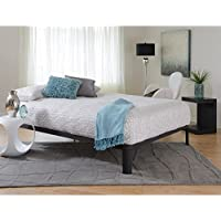 Motif Designs Motif Design Lunar Deluxe Black Platform Bed Queen