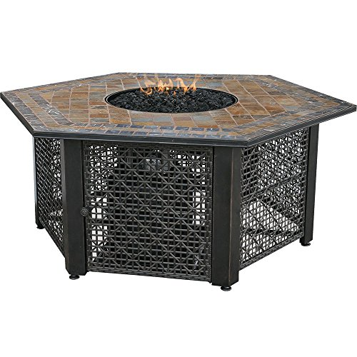 Blue Rhino Endless Summer Outdoor LP Gas Fireplace Granite / Gray GAD1375SP