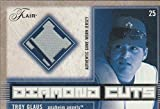 2003 Flair Troy Glaus Angels Game Used Jersey Insert Baseball Card #DC-TG