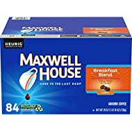 Maxwell House Breakfast Blend Light Roast K-Cup Coffee Pods (84 Pods)