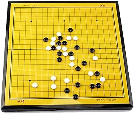 Yuzhonghua IR Conjunto de Juegos, Set de Juego IR magnética, con una Sola Piedra y Tablero de Go magnética Convexa plástico, niño/Estrategia de Juego de Mesa for Adultos: Amazon.es: Hogar