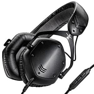 V-MODA Crossfade LP2 Limited Edition Over-Ear Noise-Isolating Metal Headphone (Matte Black) (OLD MODEL) (Discontinued by Manufacturer)
