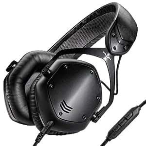 V-MODA Crossfade LP2 3,5 mm Binaurale Diadema Negro auricular con micrófono - Auriculares con micrófono (PC/Juegos, Binaurale, Diadema, Negro, Alámbrico, Circumaural)