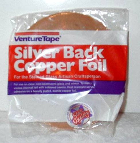 Foil Venture Copper (1/4 Inch Venture Silver Backed Copper Foil)
