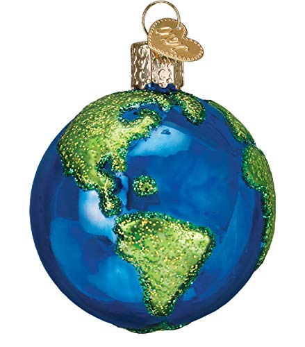 Old World Christmas 22038 Ornament, Planet Earth