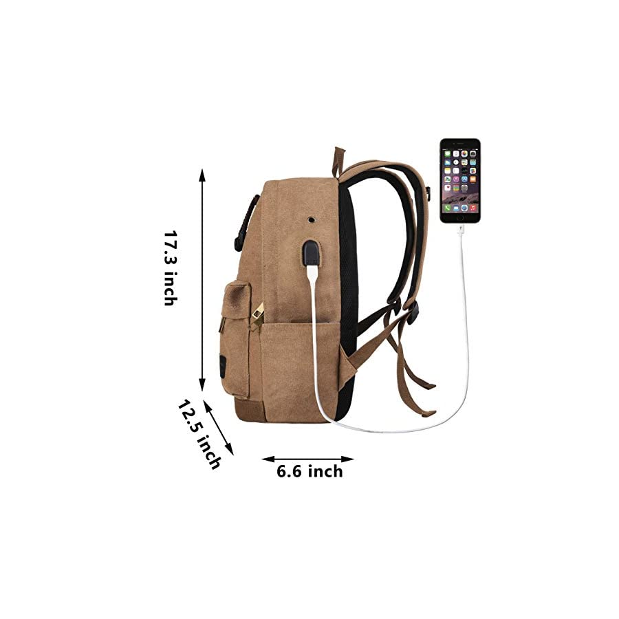 Laptop Backpack for Men Back Pack (Coffee 0)