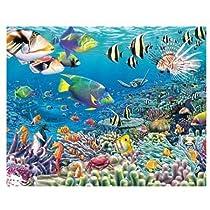 Visual Echo 3D Effect Undersea Garden 3D Mini Lenticular Puzzle 35pc