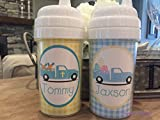 Personalized Easter sippy cups, Easter Truck cups, Easter Basket stuff, Kids Easter cups