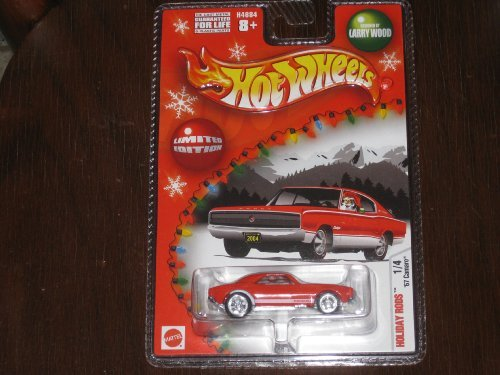 2004 Hot Wheels Holiday Rods '67 Red Camaro Designed by Larry Wood