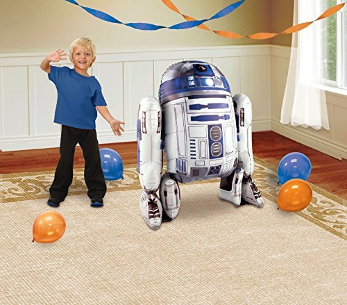 1 X Star Wars R2D2 AirWalker Foil Balloon by Anagram