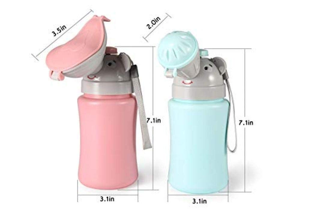 For Boy, K1 Portable Baby Child Potty Urinal Emergency Toilet for Camping Car Travel and Kid Potty Pee Training