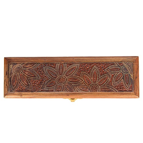 ShalinIndia Handmade Indian Wood Jewelry Box - Jewelry Box for Girls and Ladies - Gifts for Girlfriend by ShalinIndia (Image #5)