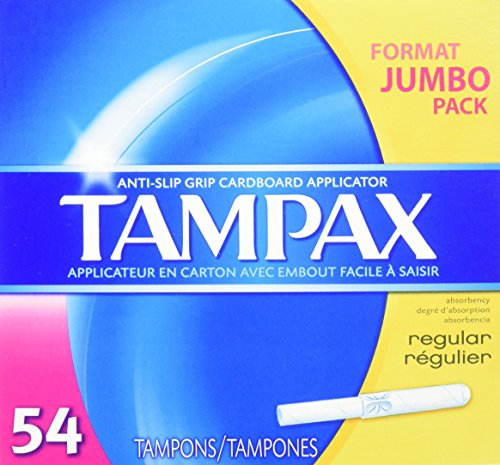 Tampax Cardboard Applicator Tampons Absorbency product image