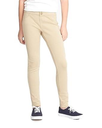 e3ed7ee0d0 Old Navy School Sale School Super Skinny Ponte-Knit Uniform Jeggings for  Girls! (