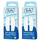 Tepe Bridge and Implant Floss (60 Pieces) -2 Pack