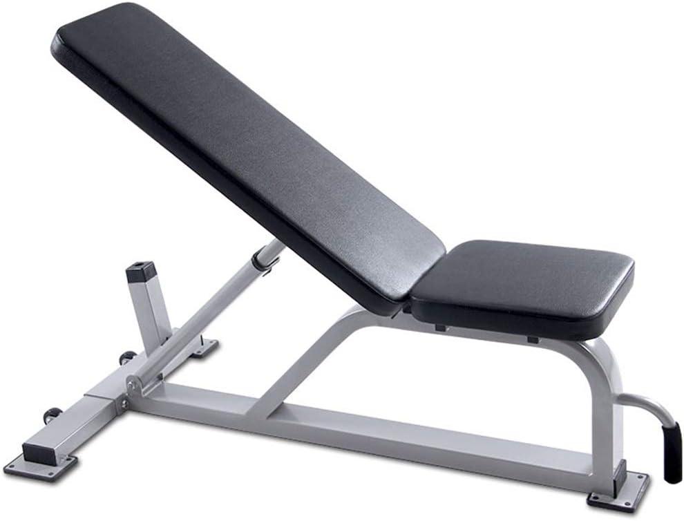 専門のダンベルベンチ商業調節可能なベンチ家の訓練の体育館傾けられたベンチの腹部板腹筋20KGの重量のテーブル トレーニングベンチ (Color : 黒, Size : 133*120*68cm) 黒 133*120*68cm