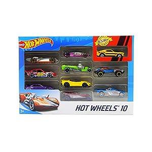 Hot wheels 10 Cars Gift...
