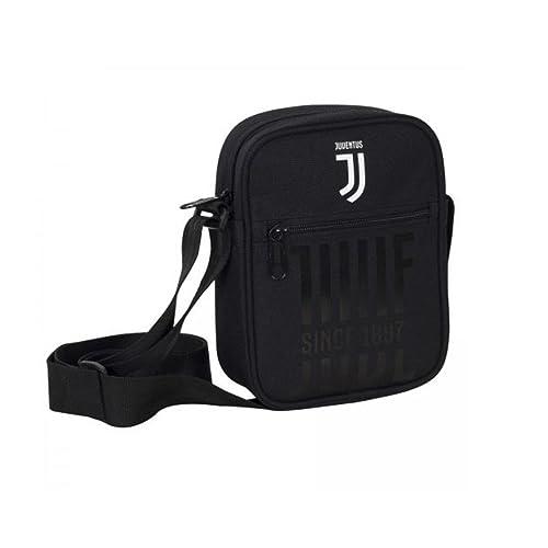 FC JUVENTUS tracolla SEVEN SQUARE SHOULDER BAG DRIBLING collezione 2018  prodotto ufficiale JJ borsello in tessuto 26ca39a5ece