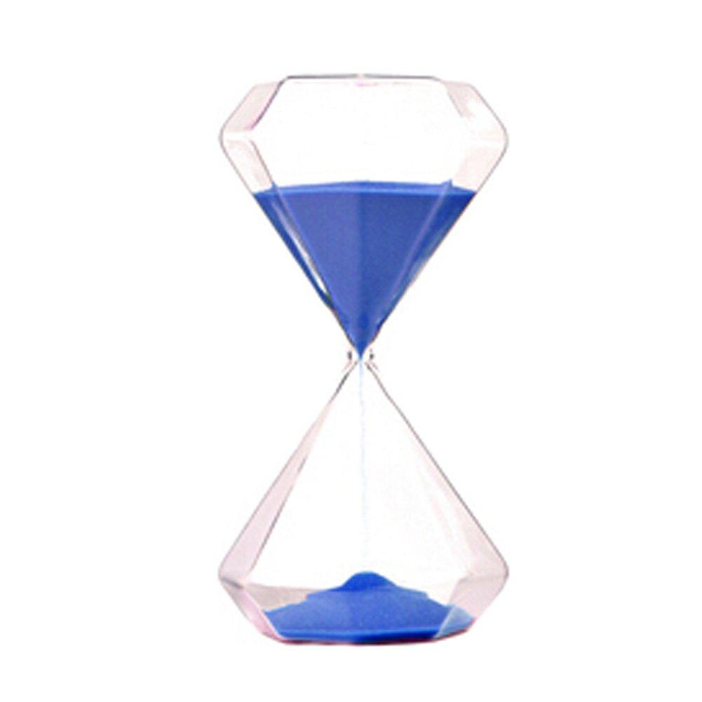 Blancho 30 Minute Hourglass Sable Timers Sable diamant en forme de minuterie mer bleu