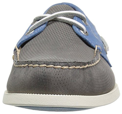 Sperry Blue Perfed Grey Sider Eye Men's Top O a Shoe 2 Boat r0PrxS