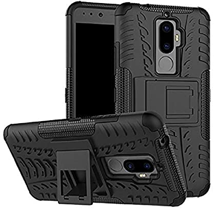 low priced 2eaf1 57583 ZYNK CASE Hybrid Armor Design Detachable and Stand-up Feature Dual Layer  Protective Shell Hard Back Cover for Lenovo K8 Plus (September 2017 Launch  ...