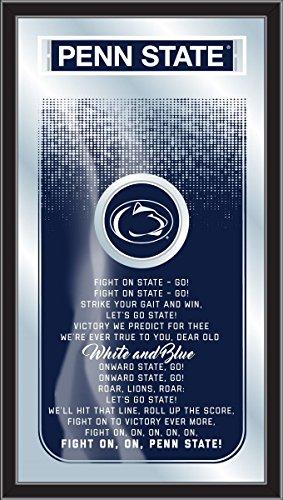 Holland Gameroom MFghtPennSt Penn State Fight Song (Penn State Wall Mirror)