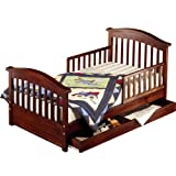 Sorelle Joel Toddler Bed - Oak on Pine