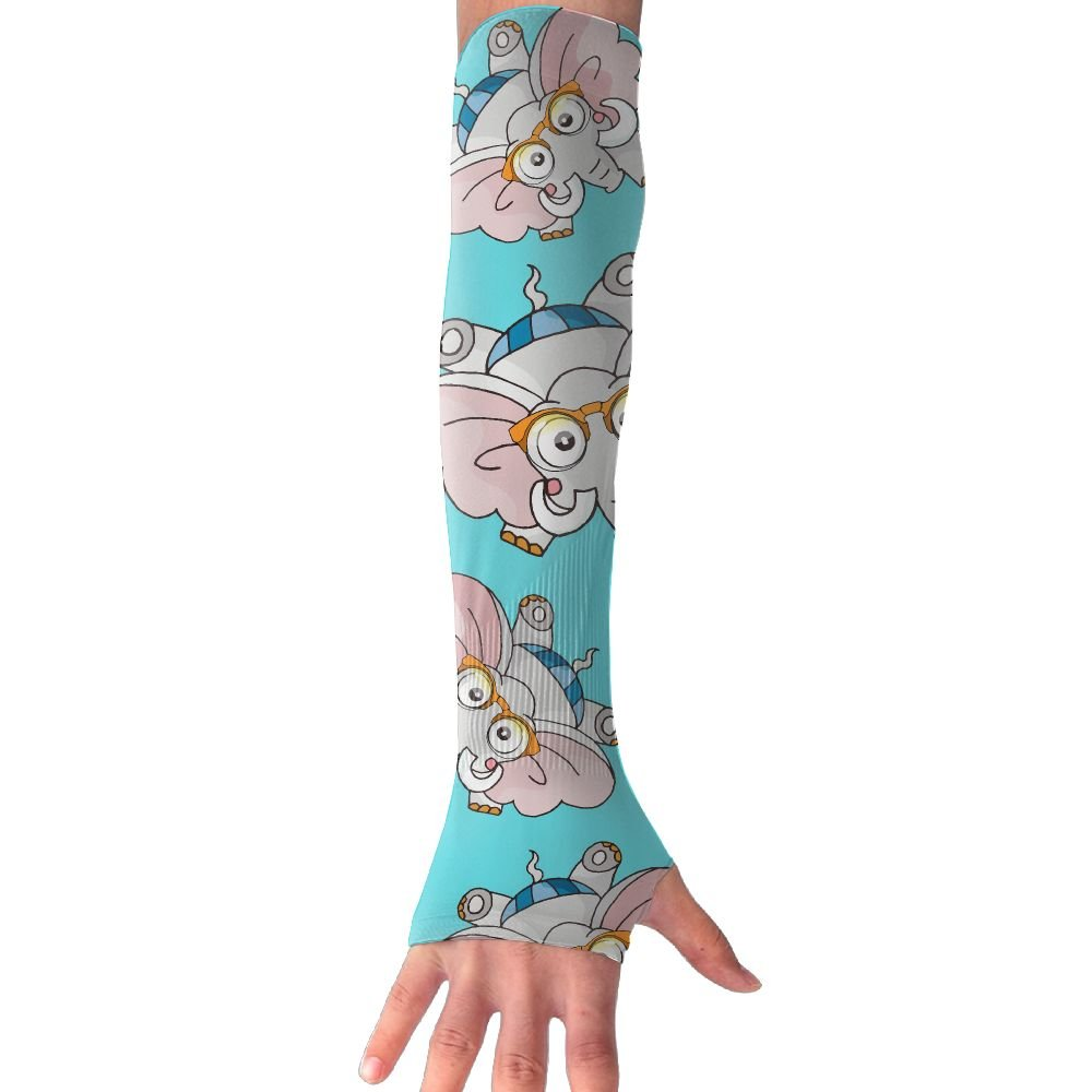 Elephant Glasses Women's Running Sun Protection Durable Arm Sleeves Gloves Cover
