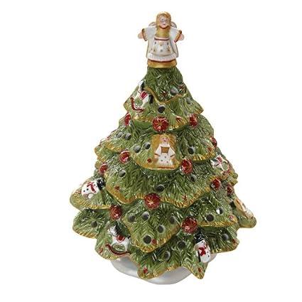 Amazon.com: Villeroy & Boch Nostalgic Village Christmas Tree: Home ...