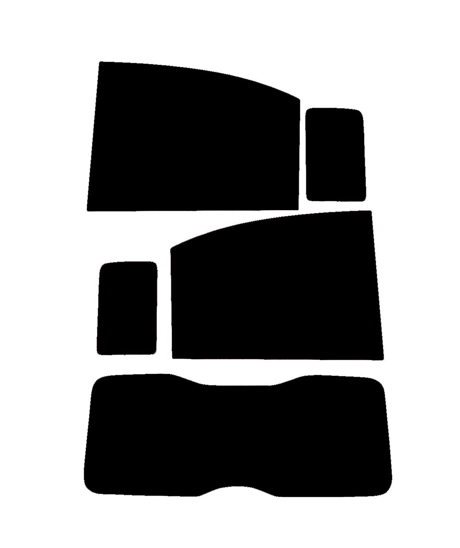 PSSC Pre Cut Rear Car Window Films for Vauxhall Corsa 3 Door 2007-2013 35/% Medium Tint