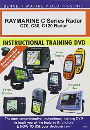 amazon com dvd raymarine c series radar c70 c80 c120 rh amazon com C125 Raymarine Plotter Raymarine Fishfinder