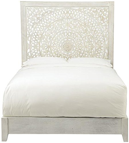 Home Decorators Collection Chennai Bed, Queen, Whitewash