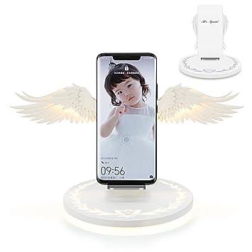 Amazon.com: Cargador inalámbrico especial, Angel Wings 10 W ...