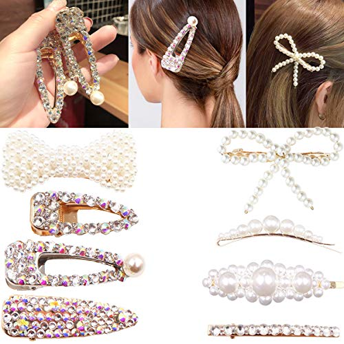 Diamond Words Letters Hair Clips Hairpin Barrette Slide Grips Jewelry Headpiece Durable In Use Hair Accessories