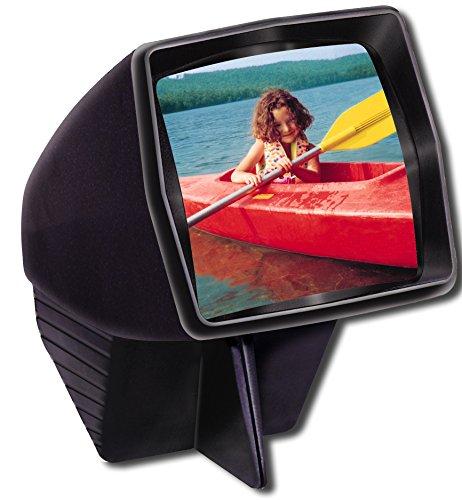 (Pana-Vue 1 Lighted 2x2 Slide Film Viewer for 35mm,black)