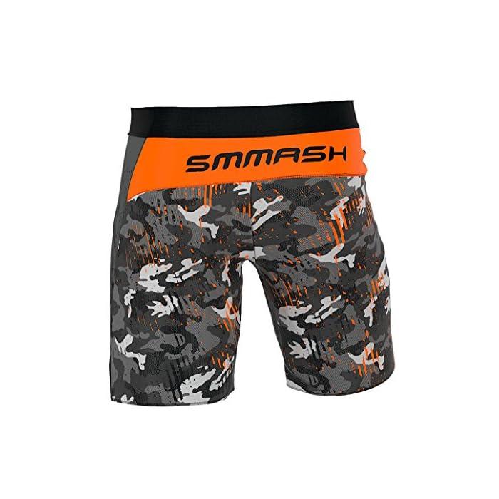51mhl56SNJL ¡Ropa profesional para las artes marciales! Ideal como pantalones deportivos para hombres para el entrenamiento de MMA, BJJ, agarre, krav magá. Se pueden usar como pantalones cortos universales para el gimnasio y el entrenamiento cruzado. ¡Todos los productos manufacturados en Europa y con una alta calidad garantizada! El material de rendimiento térmico, del que están hechas las mallas, absorbe el sudor y evapora rápidamente la humedad incluso durante un entrenamiento intenso, también el material ligero y transpirable garantiza un secado rápido, incluso cuando se sumerge completamente en el agua. La tecnología de SEGUNDA PIEL garantiza un ajuste perfecto, libertad de movimiento ilimitada y una aspecto atractivo.