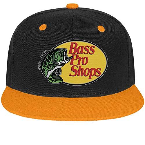 Bass Camo Shops Pro (Bass-Pro-Shop-Fishing-Logo- Unisex Girls Camo Hip Hop Hat Fit Baseball Cap)