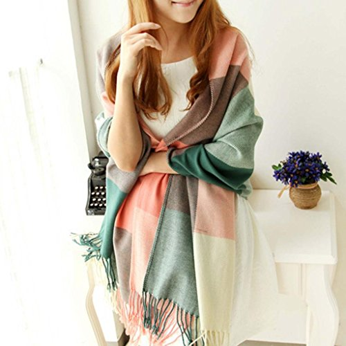 HuaYang Extra Long Warm Winter Imitation Cashmere Thicken