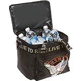 harley davidson sissy bar bag - BNFUSA LUMCOOLTR Motorcycle Cooler Bag With Hook & Loop Sissy Bar Strap