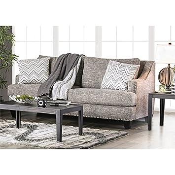 Amazon.com: Muebles de América Nora Sofá Contemporáneo en ...
